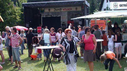 Sommerfest in Mittelagger am Samstag, 16.08.2008