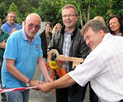 Ein großer Schritt zum neuen Dorfplatz