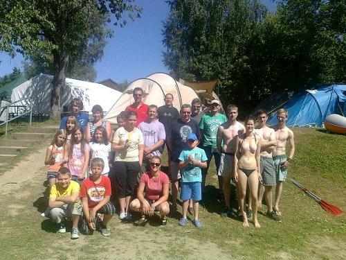 Zeltlager an der Aggertalsperre vom 19. bis 21.07.2013