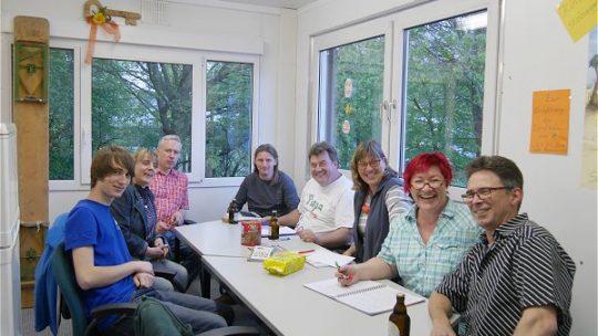 Vorstandssitzung im Dorfbüro
