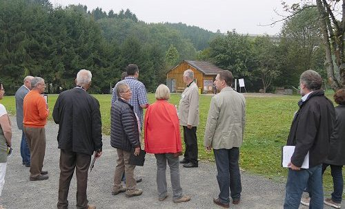 """Besuch der Kommission """"Unser Dorf hat Zukunft"""""""