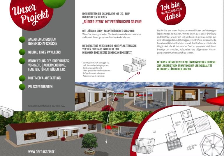 Bausteine Dorfhauserweiterung Oberagger